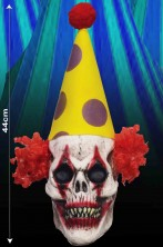 Decorazione halloween testa clown horro da appendere