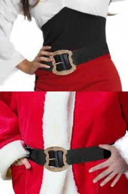 Cintura cinturone da Pirata o Babbo Natale in similpelle