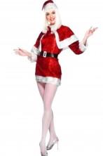 Costume Babba Natale luccicante