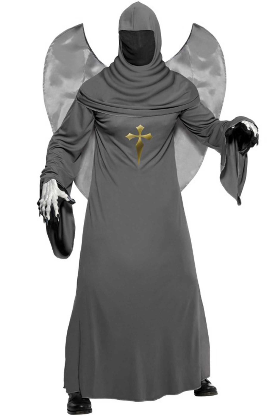 Vestito di halloween uomo adulto angelo del cimitero 45302d410cf2