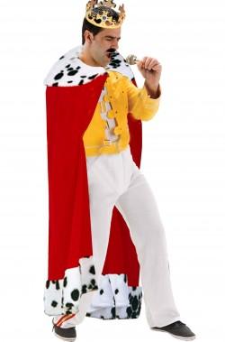 Costume Freddie Mercury Fine Concerto Wembley 86 con toga