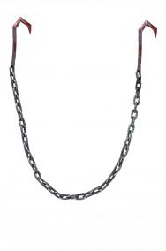 Uncino in plastica  con catena