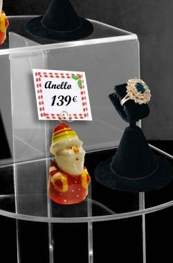 Segna prezzi per Vetrina di Natale Babbo Natale 4 pezzi