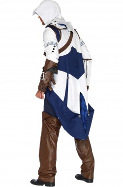 Costume Assassin's Creed di Connor da Adulto vista posteriore
