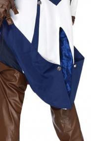 Costume Assassin's Creed di Connor da particolare della coda