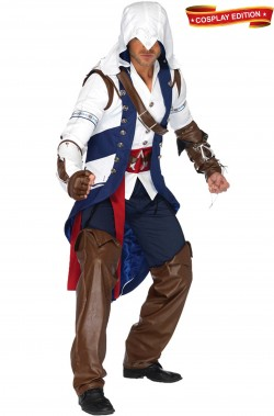 Costume Assassin's Creed Connor Adulto