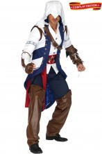 Costume Assassin's Creed di Connor da Adulto vista frontale