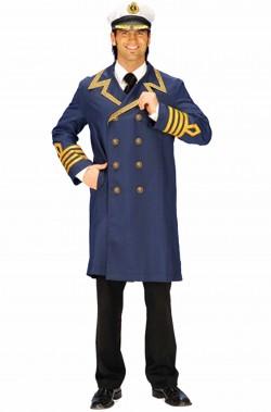 Costume da ammiraglio o ufficiale di marina adulto