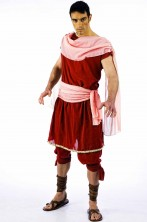 Costume uomo guerriero soldato antico romano Marco Antonio
