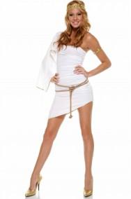 Costume donna antica romana o dea greca Afrodite o da angelo