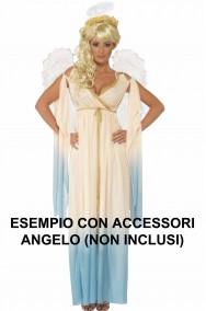 Costume donna da angelo cherubino del presepe