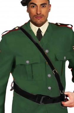 Cinturone con bandoliera per giubba rossa o divisa