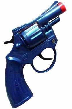 pistola o revolver poliziotto detective