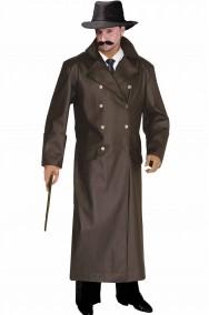 Cappotto grigio fumo di londra da auror in similpelle