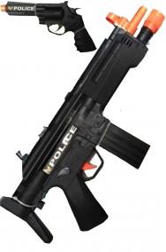 Pistola mitragliatrice giocattolo HK MP5, pistola e accessori
