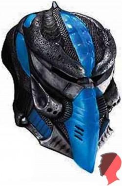 Maschera alieno androide invasore adulto