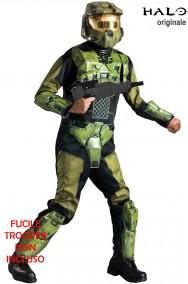 Costume di Master Chief di Halo Videogioco con fucile
