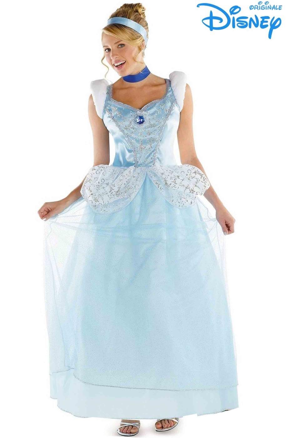 Abito Cenerentola Principessa Azzurra originale Disney
