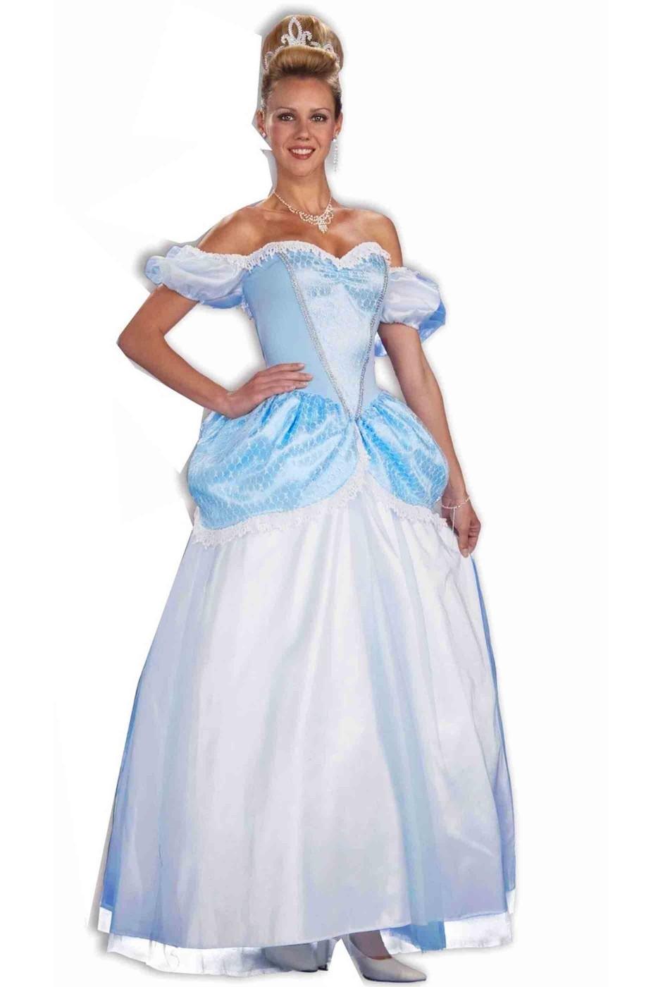 Abito adulta Cenerella Principessa Azzurra