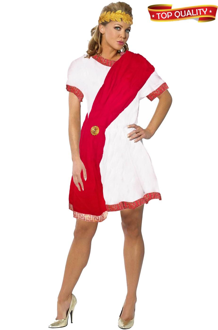 Costume donna Ancella Romana o Greca in cotone