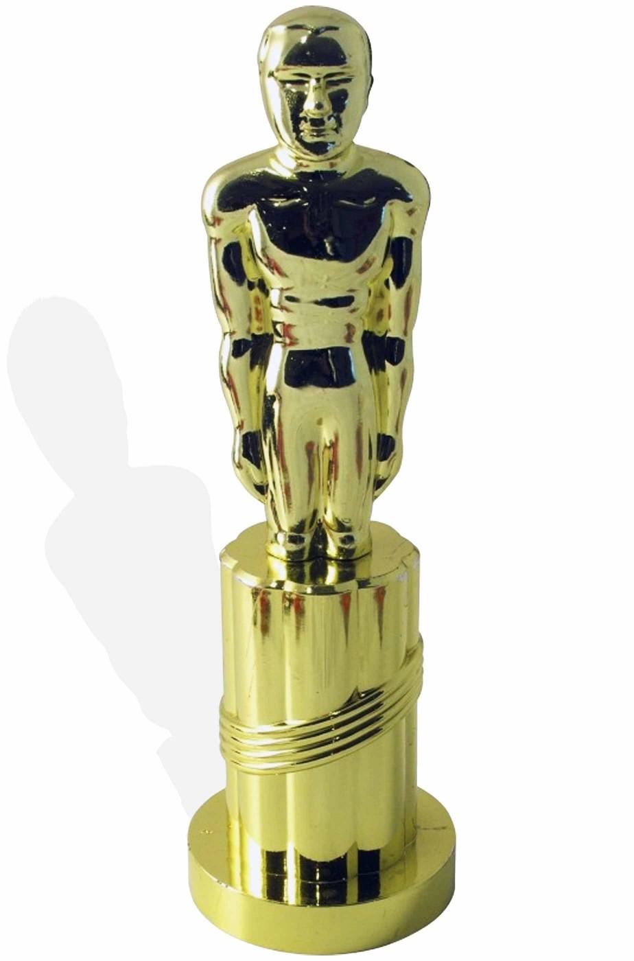 Stuatuetta oscar 24 cm color oro