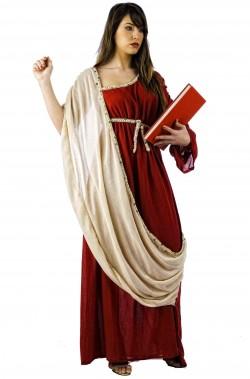 Costume donna Romana o Greca Augusta Lucilla del Gladiatore