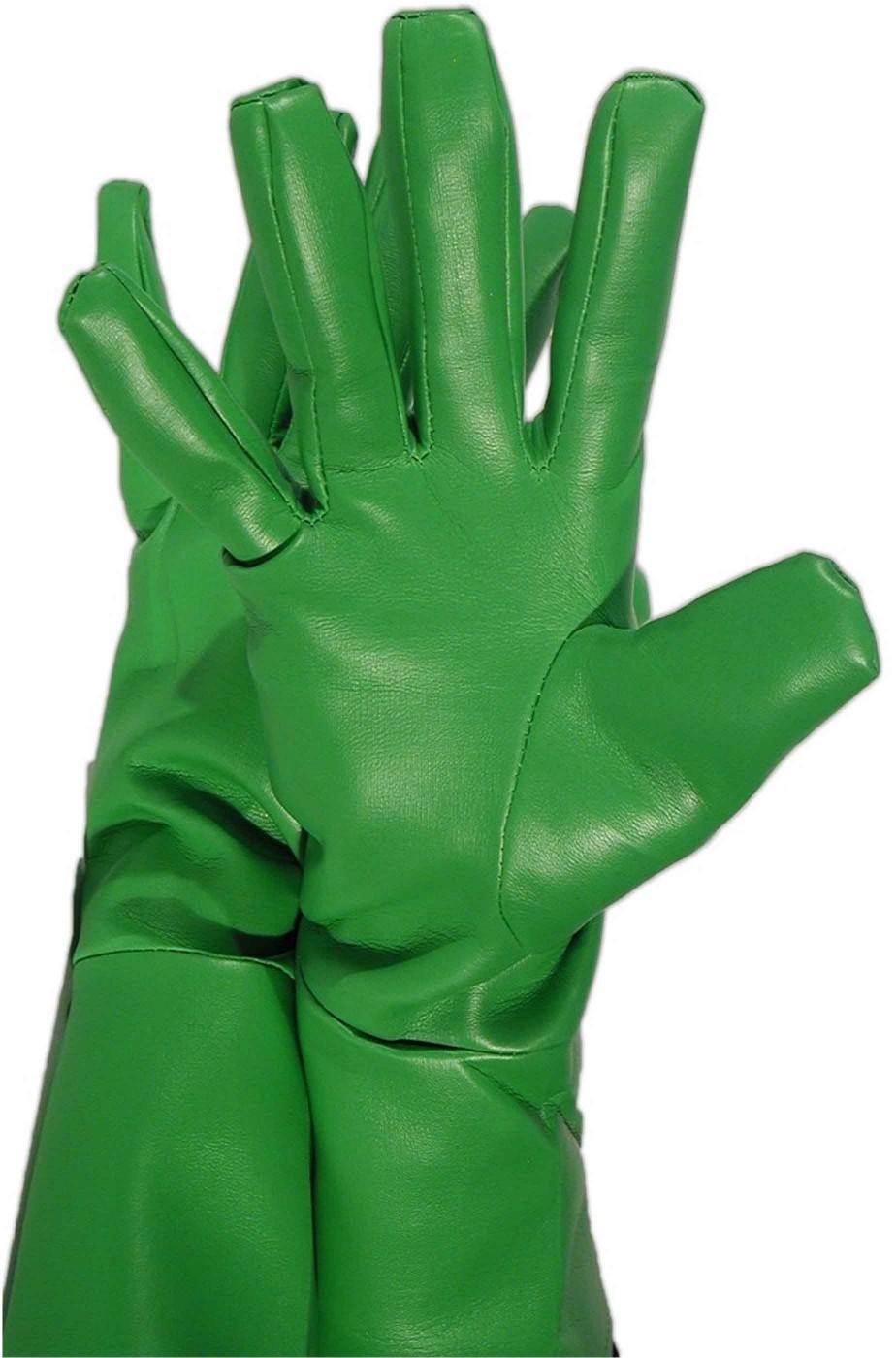 Guanti per super eroi verdi
