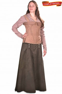 Costume medievale Lady Marian di Robin Hood Cosplay