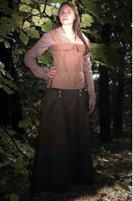 Costume medievale Lady Marian di Robin Hood Cosplay