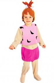 Costume di Carnevale da bambina Ciottolina Flintstone degli Antenati