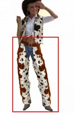 Pantaloni cowboy gambiere cowgirl pezzate taglia 36/38