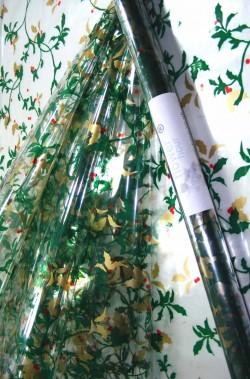 Rotolo di pellicola trasparente con vischio 105x76cm