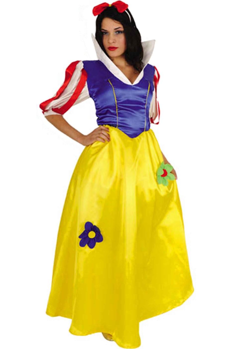 pensieri su cerca genuino cerca il più recente Costume di carnevale da donna da biancaneve classica robusta taglia L