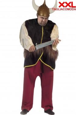 Costume uomo da vichingo taglia grande comoda confortevole XXL