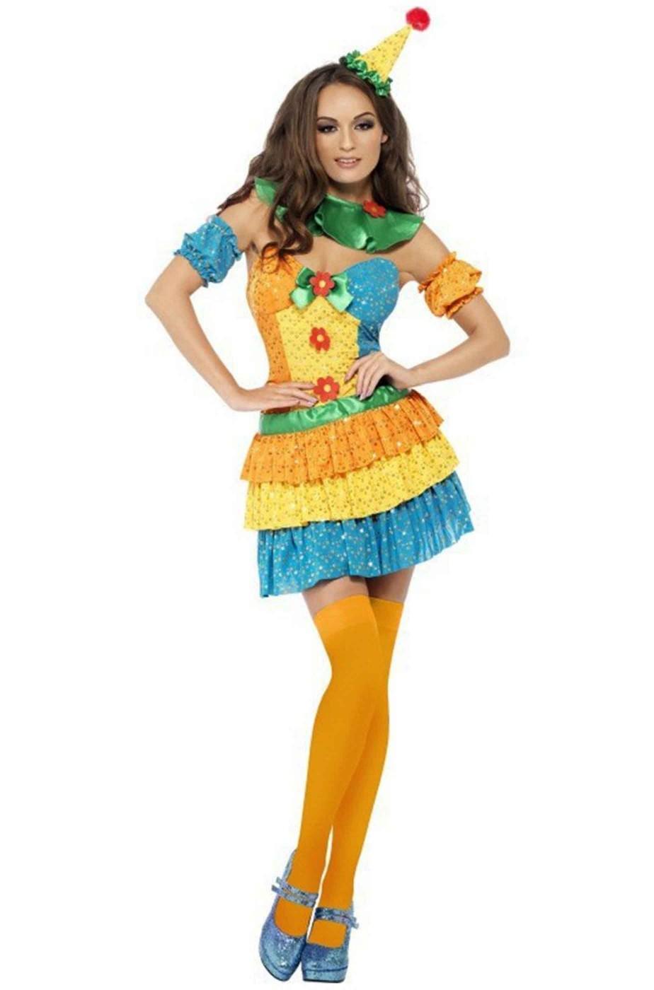 comprare popolare godere del prezzo più basso servizio eccellente Costume donna clown