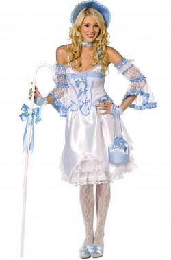 Costume di carnevale Dama pastorella Veneziano del 700