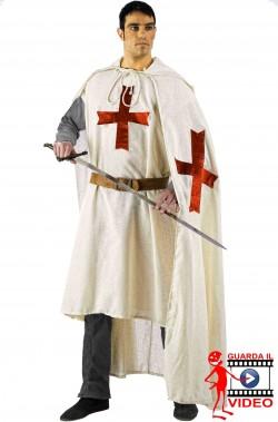 Cavaliere Crociato Templare Medievale adulto senza pantalone