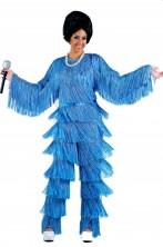 Costume Pop Star cantante donna anni 70 Chic adulta