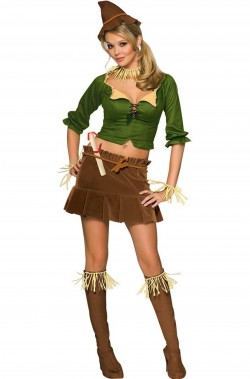 Costume spaventapasseri donna adulta  dal Mago di Oz