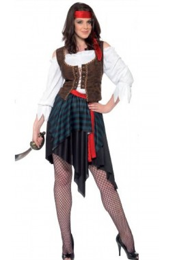 Costume donna pirata o...