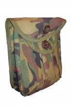 Borsa mimetica militare da cintura per mappe o caricatori doppia chiusura in cordura