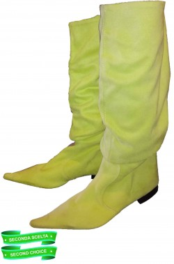 Stivali verdi donna flosci da Trilli, Elfa, Poison Ivy ecc.