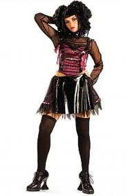 Costume donna teen dark punk