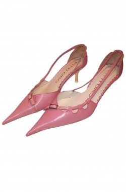Scarpe da gala da donna da sera rosa Principessa Sissi