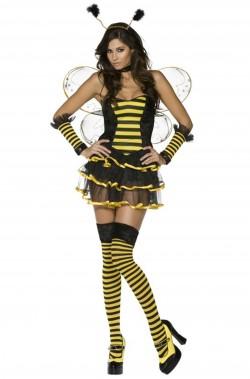 Costume di carnevale da donna ape sexy