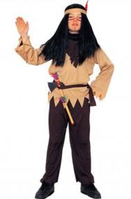 Costume carnevale Bambino Indiano Toro Seduto