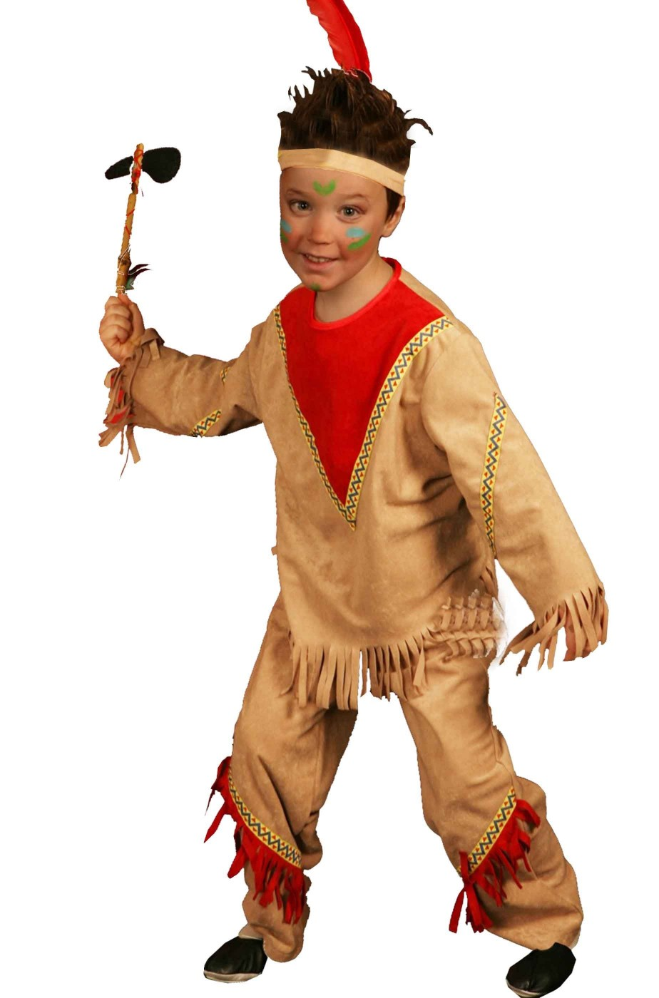 Costume carnevale Bambino Indiano Sioux