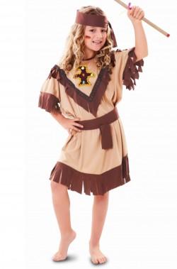 Costume carnevale Bambina Principessa Indiana