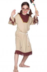 Costume carnevale Bambina Ragazza Indiana