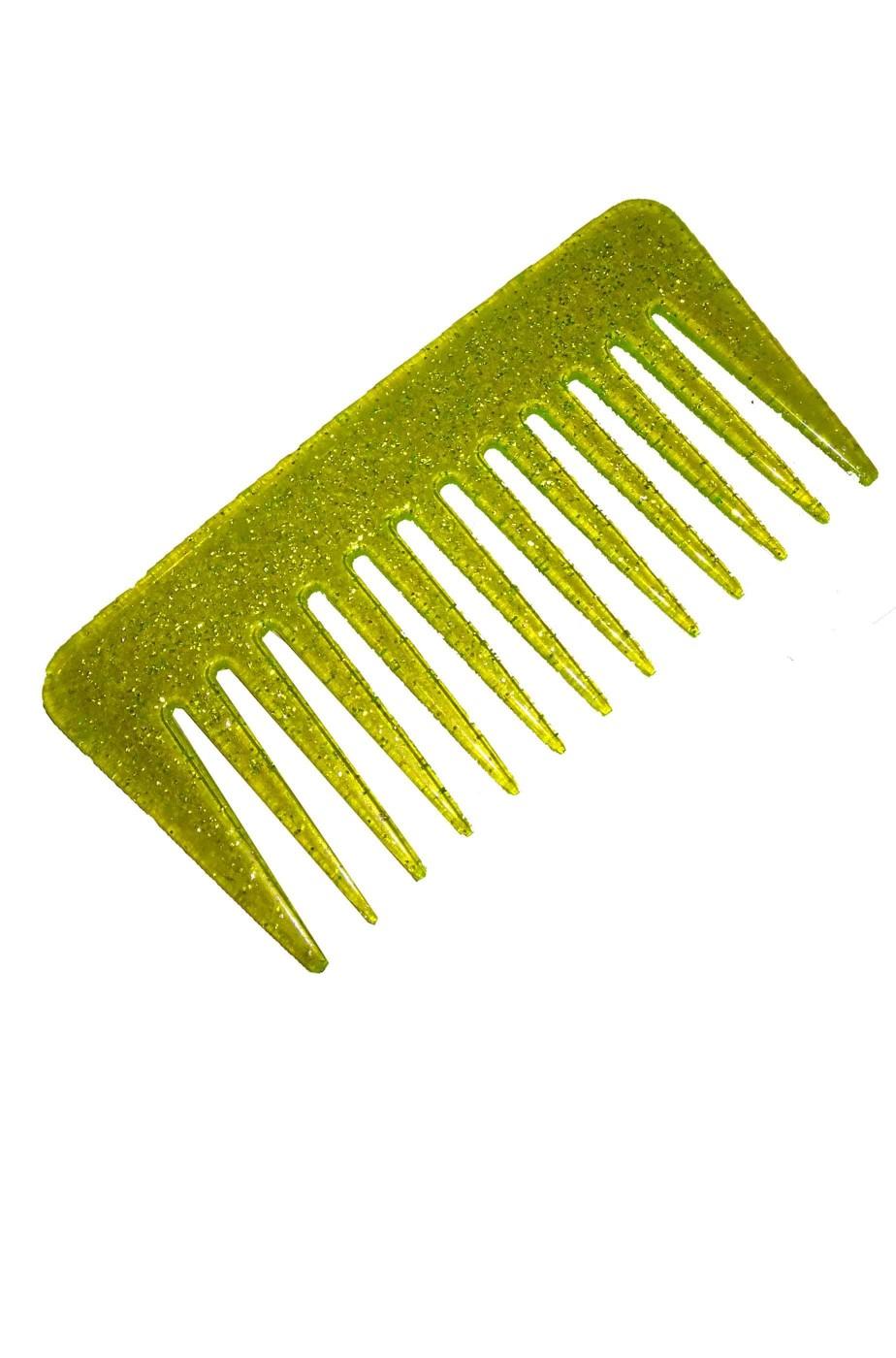Pettine a denti larghi per parrucche